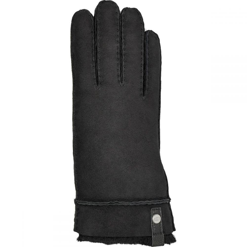 アグ UGG レディース 手袋・グローブ 【Sheepskin Tenney Glove】Black