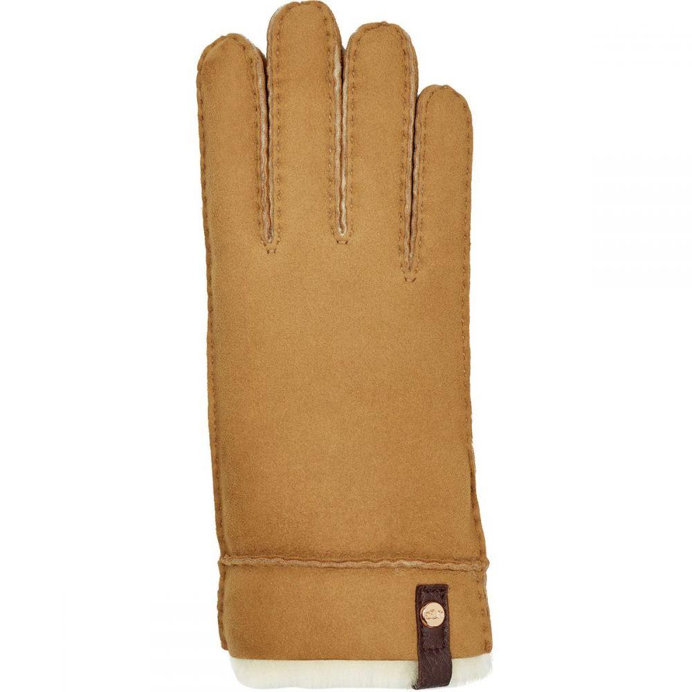 アグ UGG レディース 手袋・グローブ 【Sheepskin Tenney Glove】Chestnut