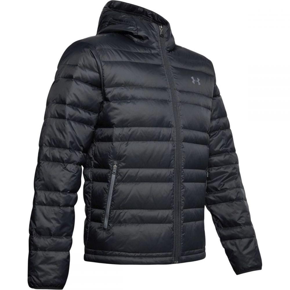 アンダーアーマー Under Armour メンズ ダウン・中綿ジャケット フード アウター【Armour Down Hooded Jacket】Black/Pitch Gray