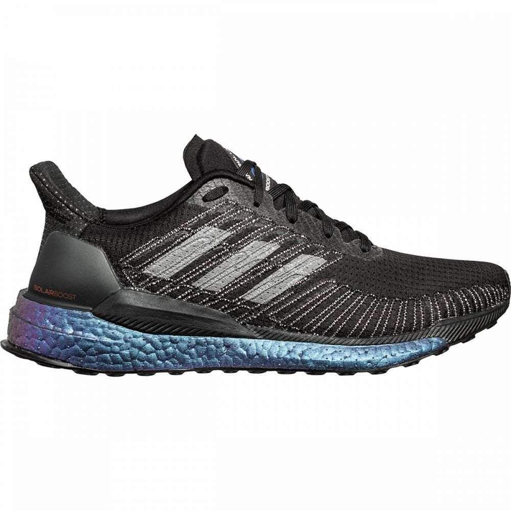 アディダス Adidas メンズ ランニング・ウォーキング シューズ・靴【Solar Boost Running Shoe】Core Black/Core Black/Solar Red