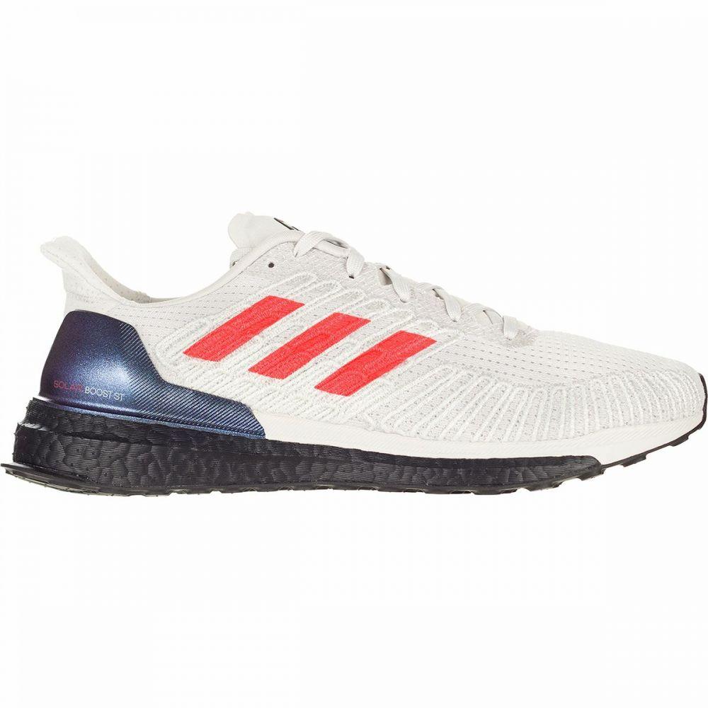 アディダス Adidas メンズ ランニング・ウォーキング シューズ・靴【Solar Boost ST 19 Running Shoe】Grey One/Solar Red/FTW White
