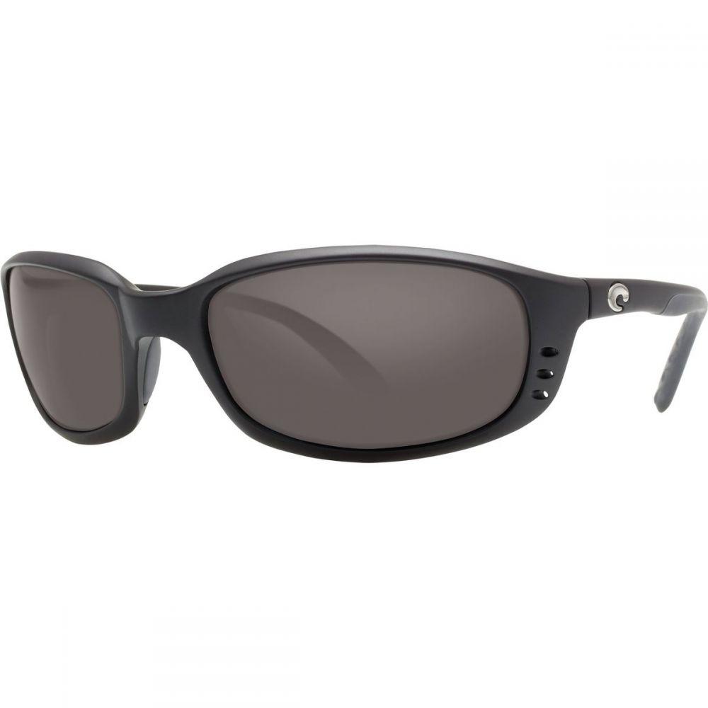 コスタ Costa レディース スポーツサングラス 【Brine 580P Polarized Sunglasses】Matte Black/Copper