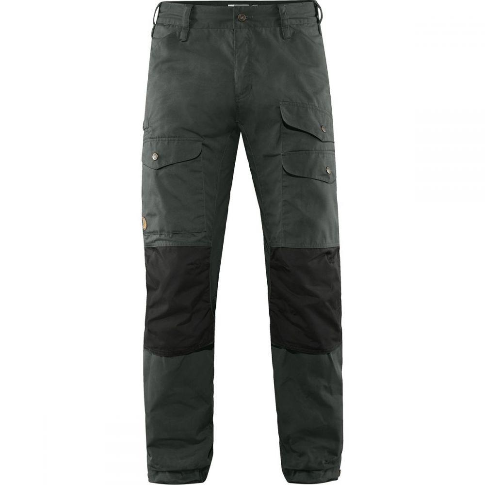 フェールラーベン Fjallraven メンズ ハイキング・登山 ボトムス・パンツ【Vidda Pro Ventilated Long Trouser】Dark Grey/Black