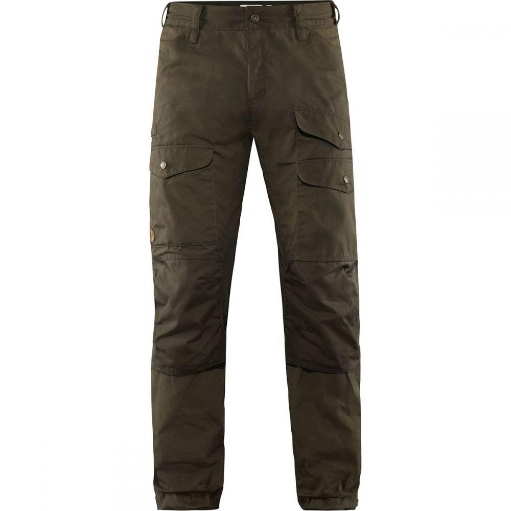 フェールラーベン Fjallraven メンズ ハイキング・登山 ボトムス・パンツ【Vidda Pro Ventilated Long Trouser】Dark Olive