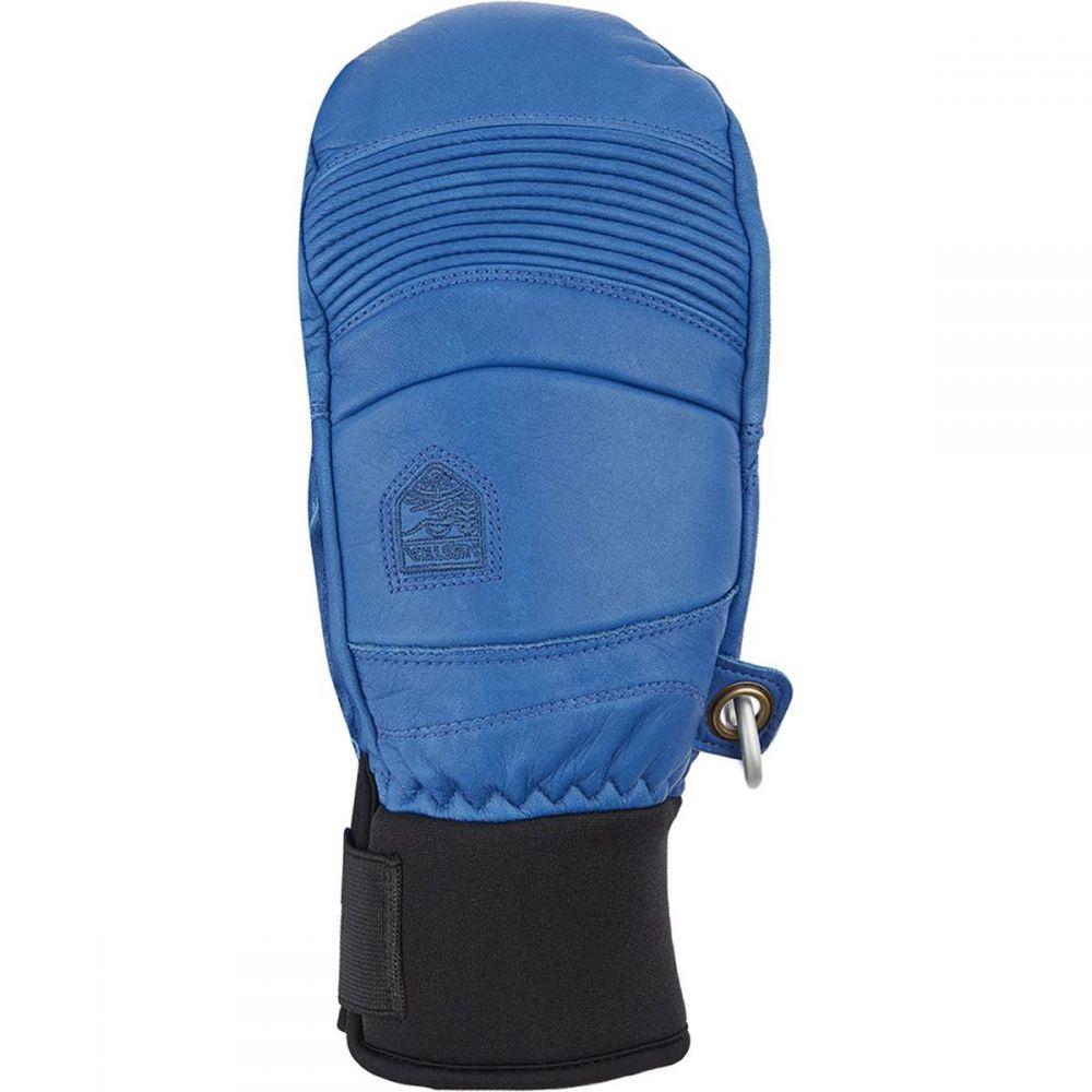 ヘスタ Hestra メンズ 手袋・グローブ ミトン【Leather Fall Line Mitten】Royal Blue