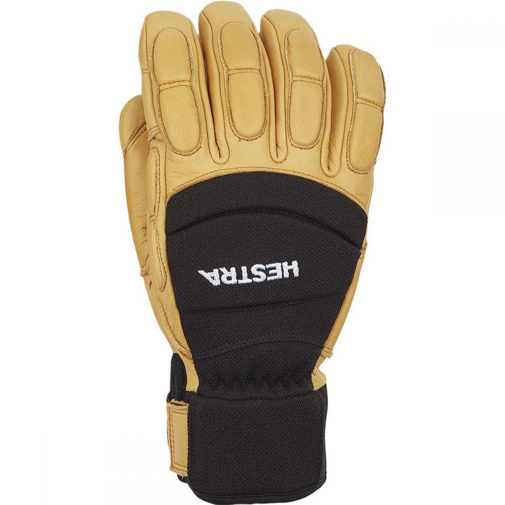 ヘスタ Hestra メンズ 手袋・グローブ 【Vertical Cut CZone Glove】Black/Tan
