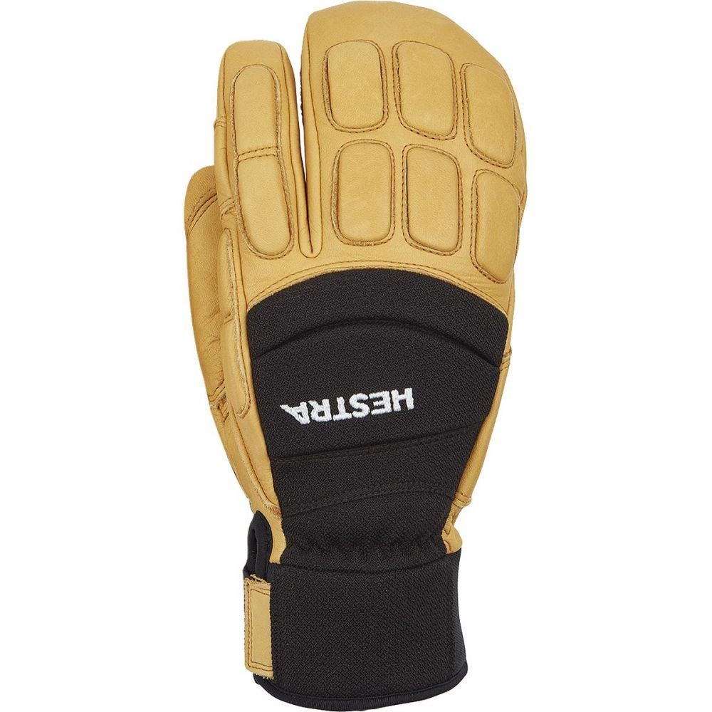 ヘスタ Hestra メンズ 手袋・グローブ 【Vertical Cut CZone 3 - Finger Glove】Black/Tan