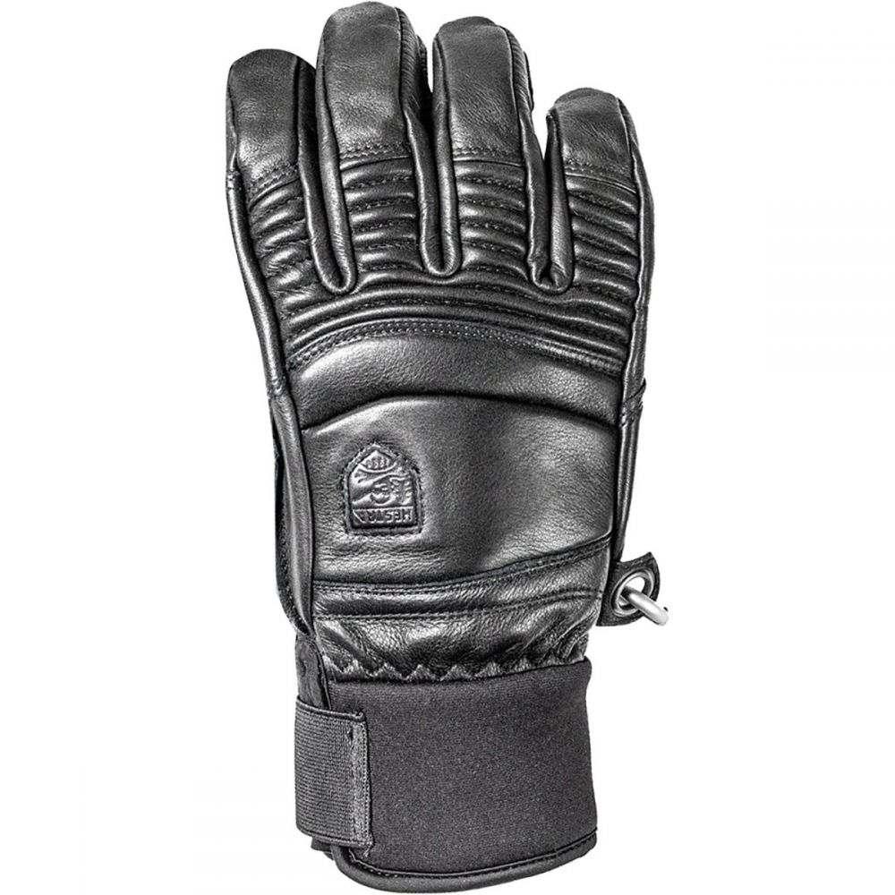 ヘスタ Hestra メンズ 手袋・グローブ 【Leather Fall Line Glove】Black