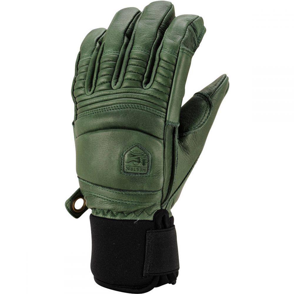 ヘスタ Hestra メンズ 手袋・グローブ 【Leather Fall Line Glove】Forest