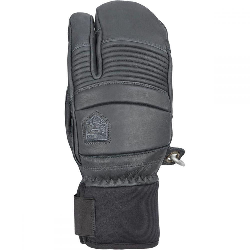 ヘスタ Hestra メンズ 手袋・グローブ 【Leather Fall Line 3 - Finger Glove】Grey