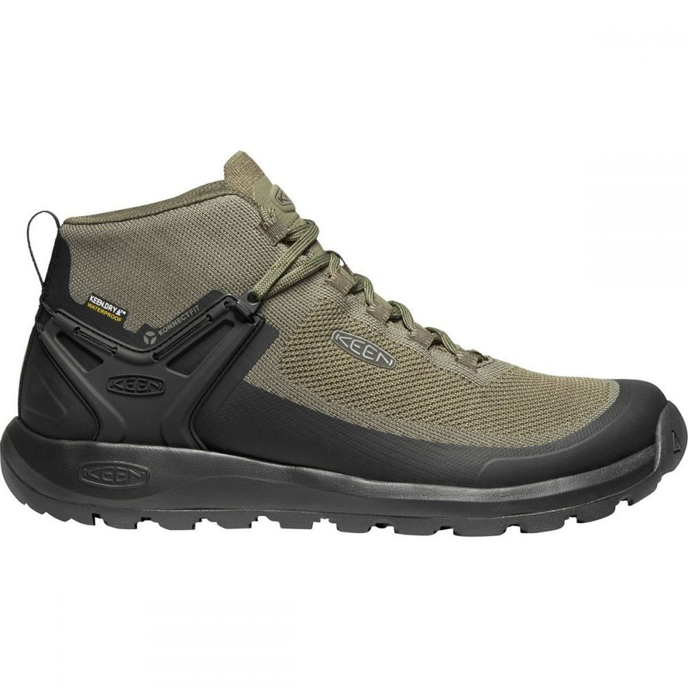キーン KEEN メンズ ブーツ シューズ・靴【Citizen Evo Waterproof Mid Boot】Olive Night/Black