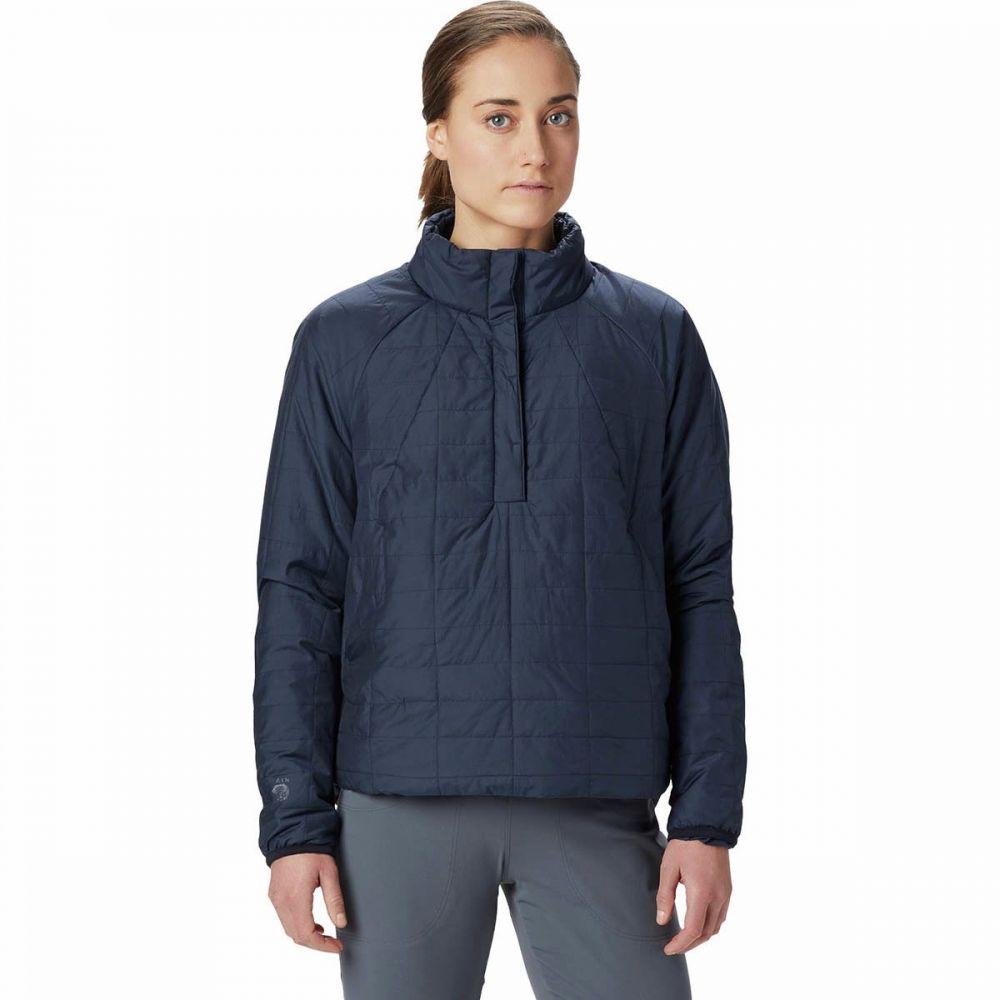 マウンテンハードウェア Mountain Hardwear レディース ジャケット アウター【Skylab Insulated Pullover】Dark Zinc
