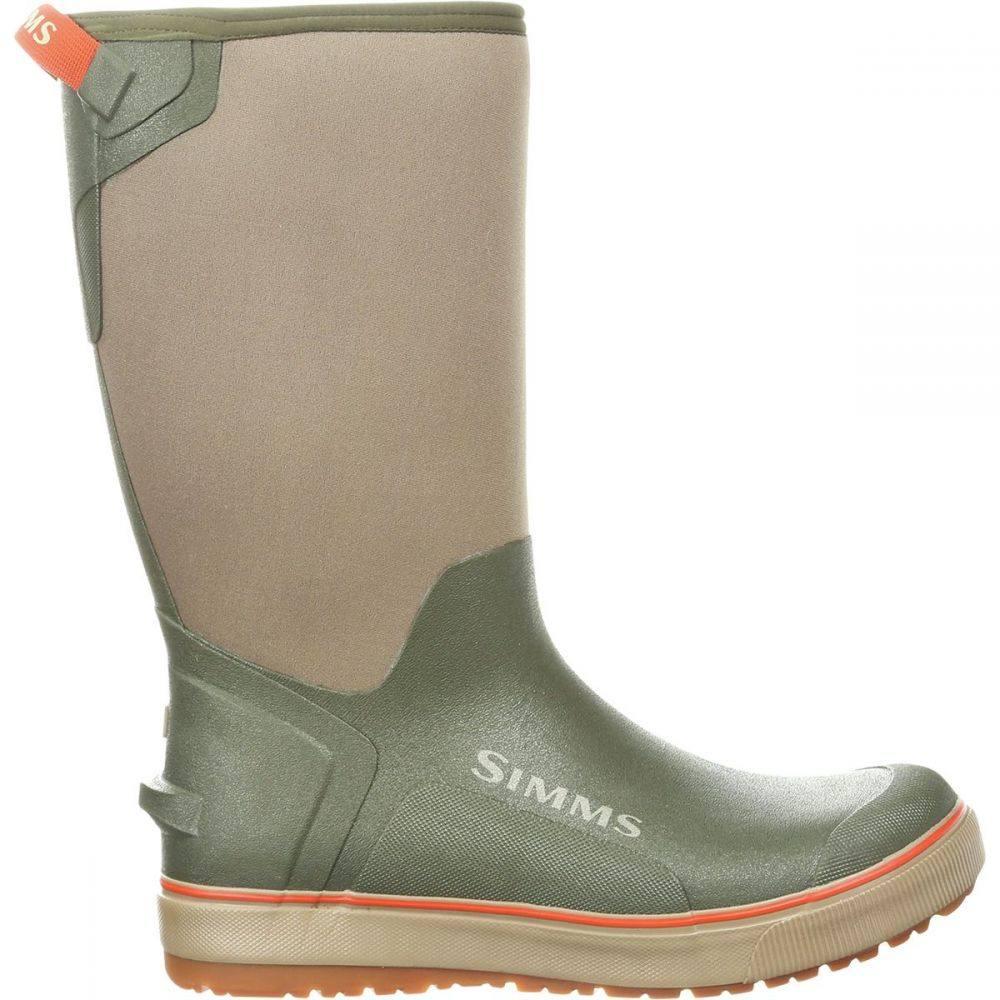 シムズ Simms メンズ 釣り・フィッシング シューズ・靴【Riverbank Pull - On 14in Boot】Loden