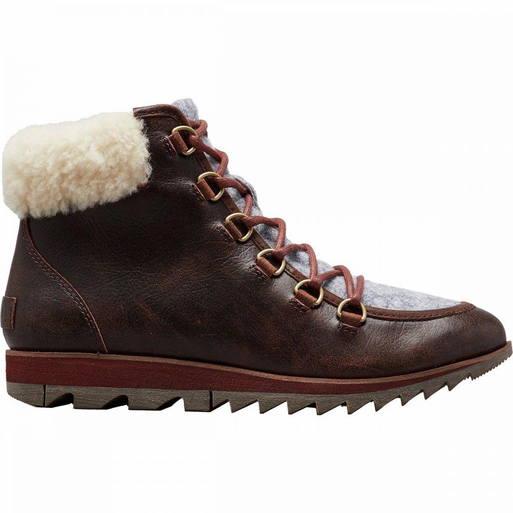 ソレル Sorel レディース ブーツ シューズ・靴【Harlow Lace Cozy Boot】Burro
