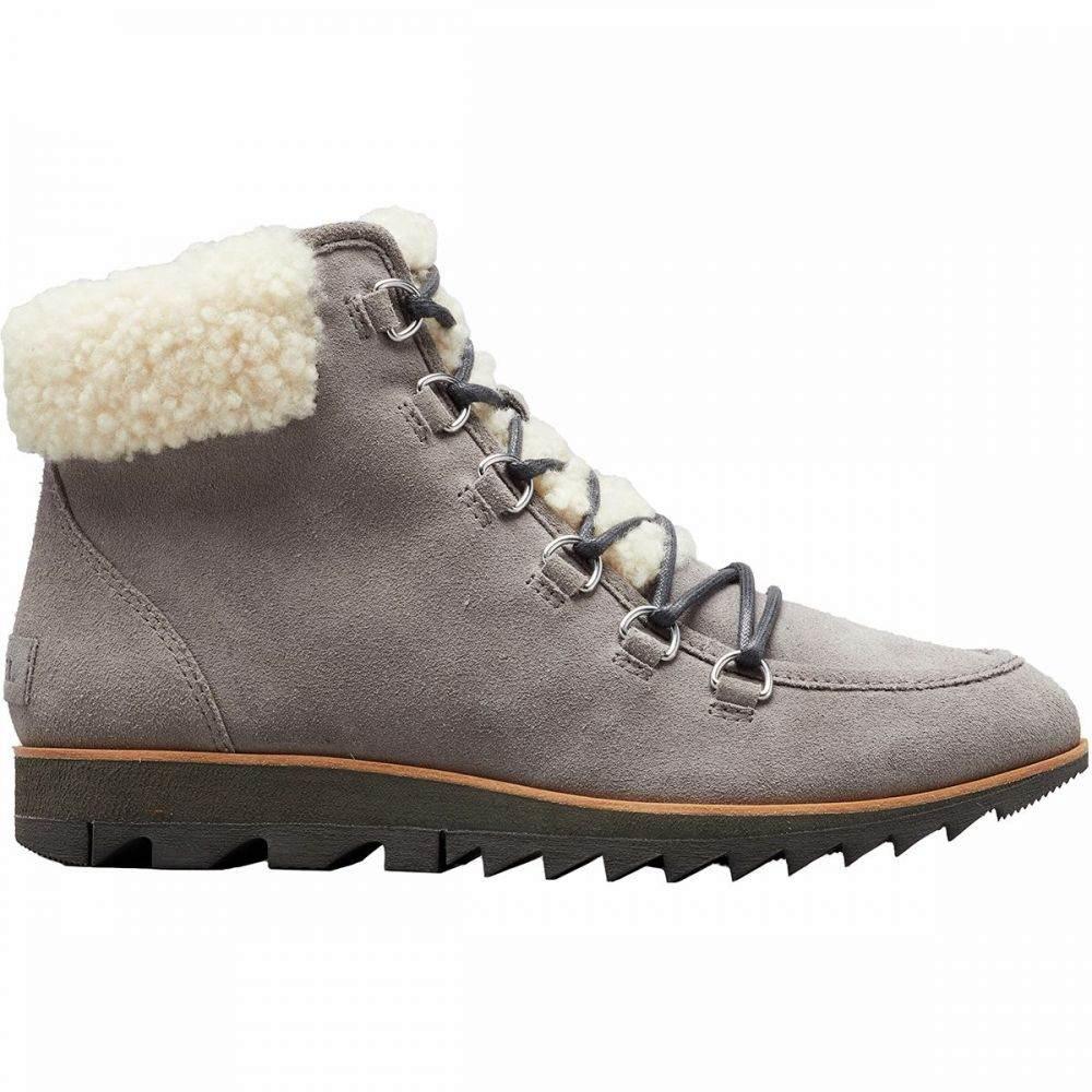 ソレル Sorel レディース ブーツ シューズ・靴【Harlow Lace Cozy Boot】Light Grey