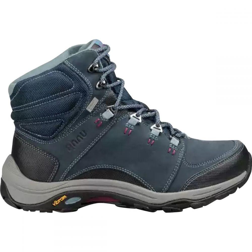テバ Teva レディース ハイキング・登山 ブーツ シューズ・靴【x Ahnu Montara III Event Hiking Boot】青 Spell