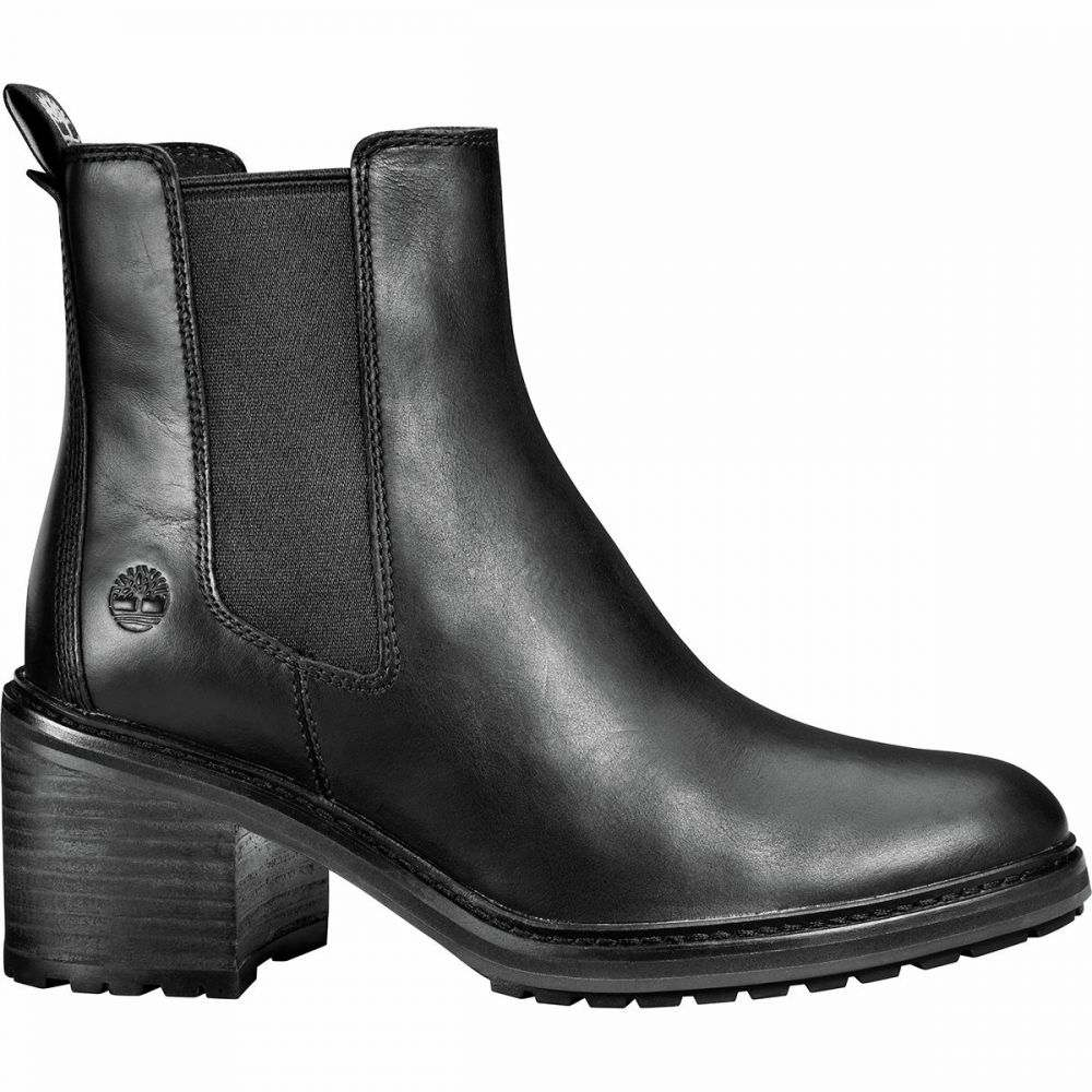 ティンバーランド Timberland レディース ブーツ チェルシーブーツ シューズ・靴【Sienna High Chelsea Boot】Black Full Grain