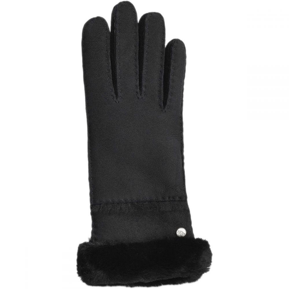 アグ UGG レディース 手袋・グローブ 【Seamed Tech Glove】Black