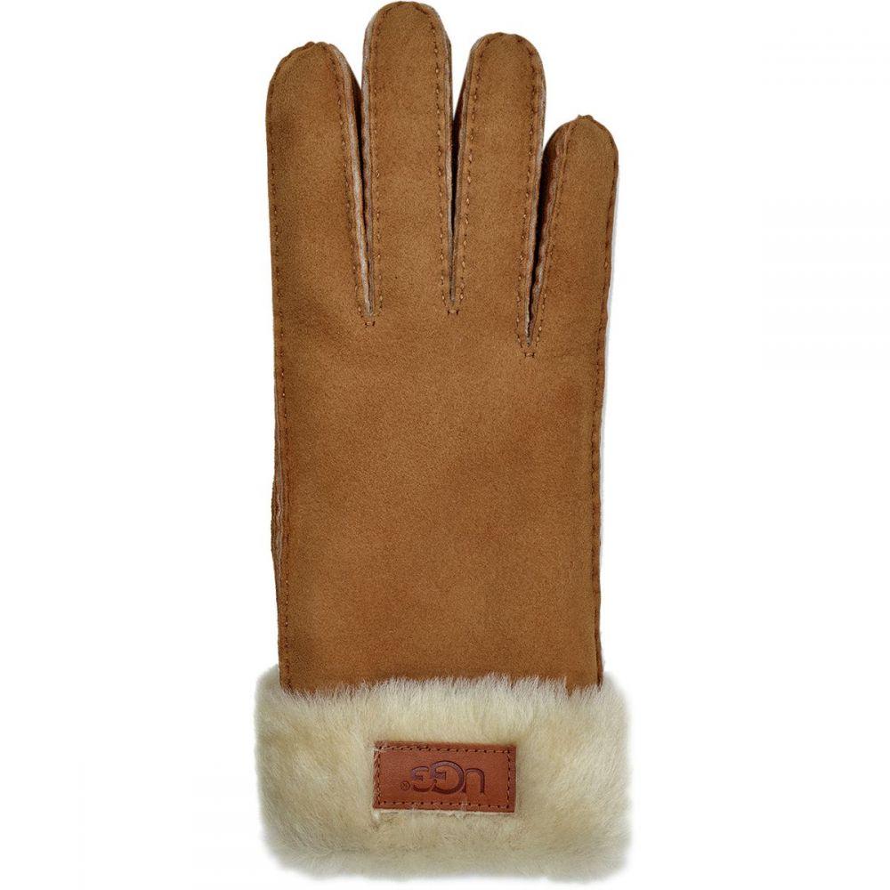 アグ UGG レディース 手袋・グローブ 【Classic Turn Cuff Glove】Chestnut