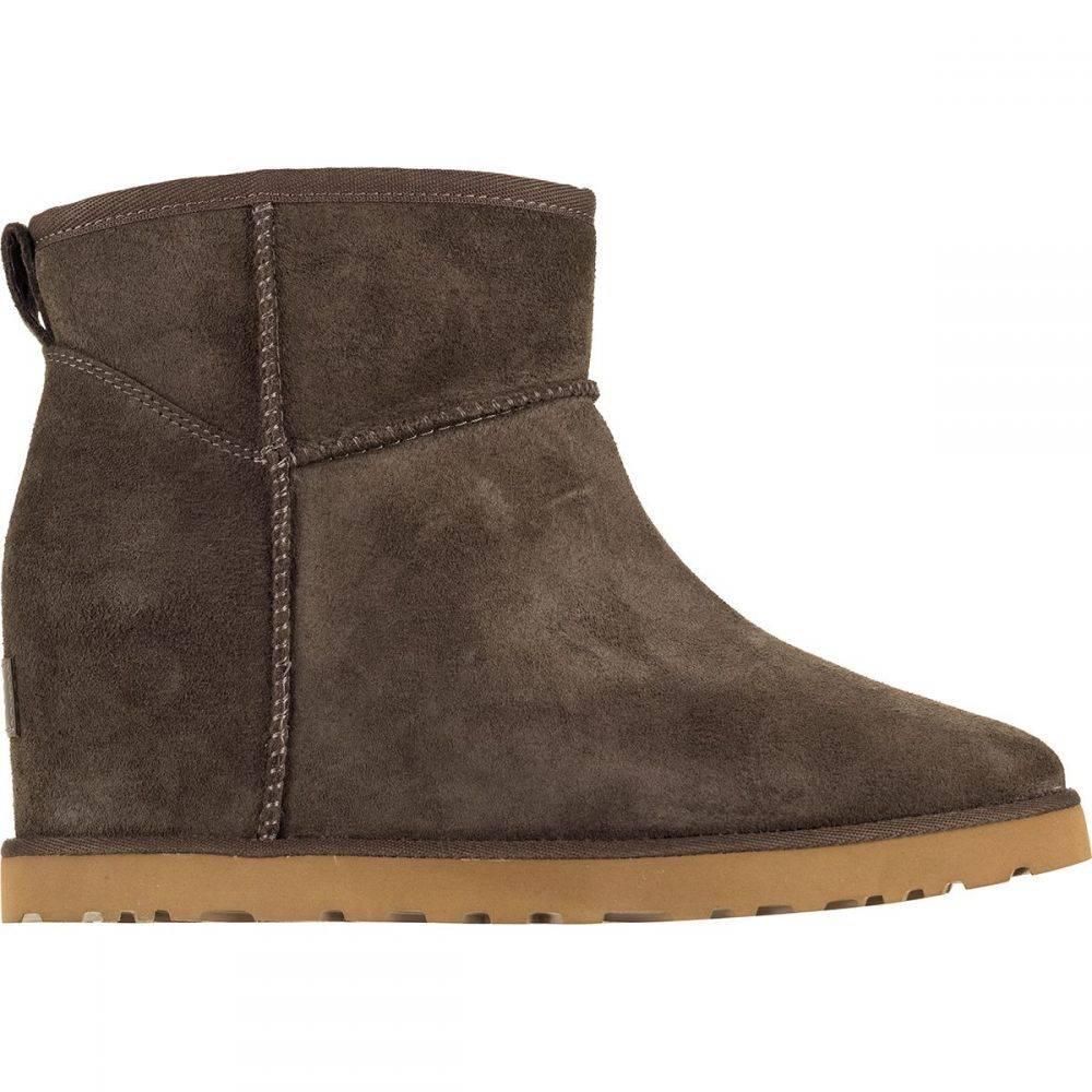 アグ UGG レディース ブーツ シューズ・靴【Classic Femme Mini Boot】Slate