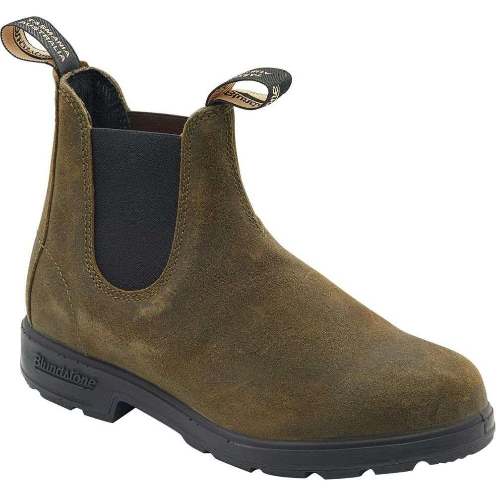 ブランドストーン Blundstone メンズ ブーツ シューズ・靴【Suede Original Series Boot】Dark Olive