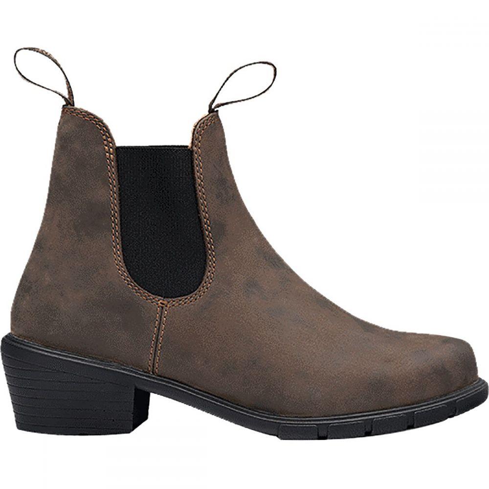 ブランドストーン Blundstone レディース ブーツ シューズ・靴【500 Series Original Heel Boot】Rustic Brown