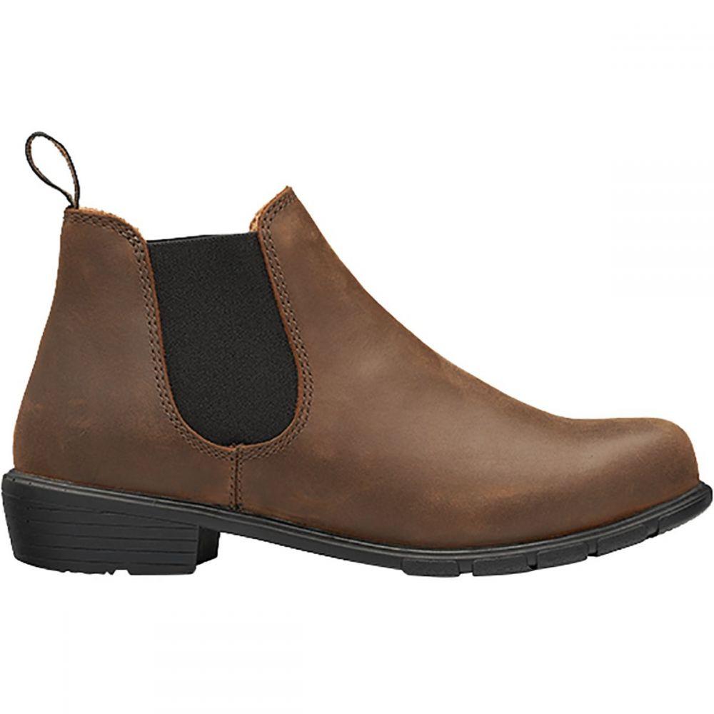 ブランドストーン Blundstone レディース ブーツ シューズ・靴【Low Heel Boot】Antique Brown