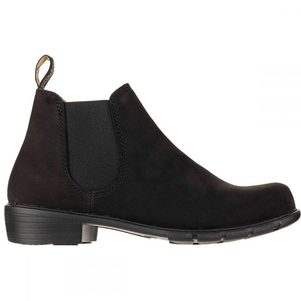 ブランドストーン Blundstone レディース ブーツ シューズ・靴【Low Heel Boot】Black Nubuck