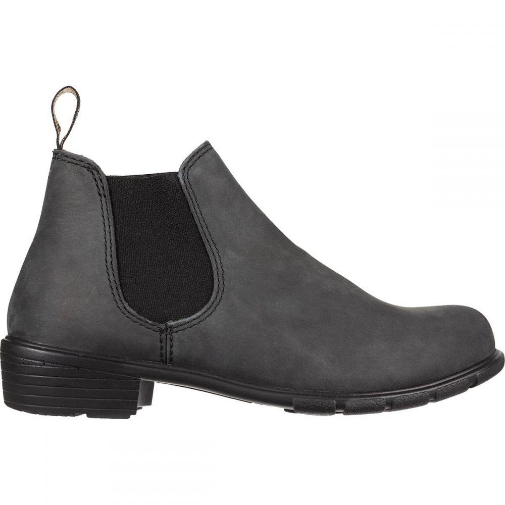 ブランドストーン Blundstone レディース ブーツ シューズ・靴【Low Heel Boot】Rustic Black