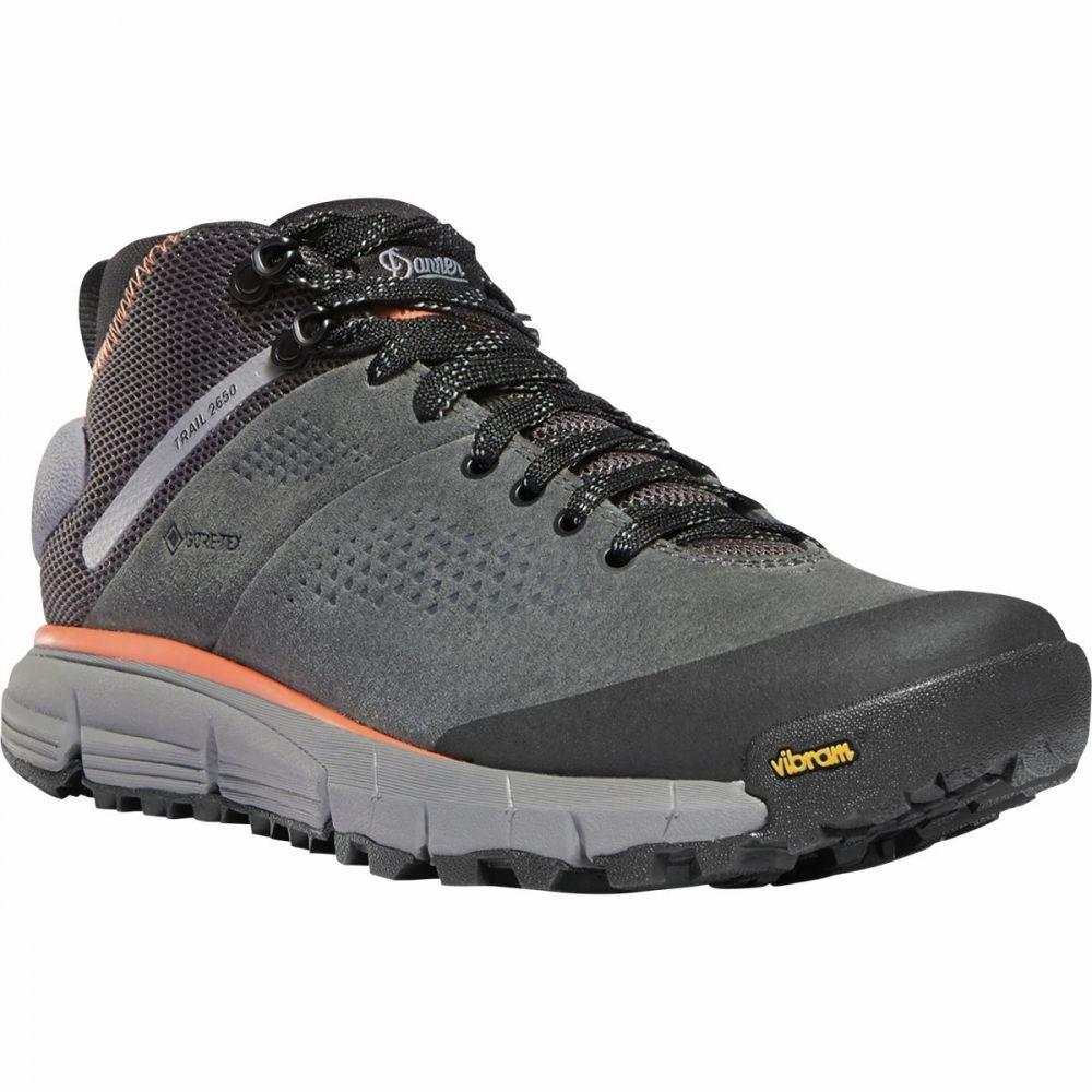 ダナー Danner レディース ハイキング・登山 ブーツ シューズ・靴【Trail 2650 GTX Mid Hiking Boot】Dark Gray/Salmon