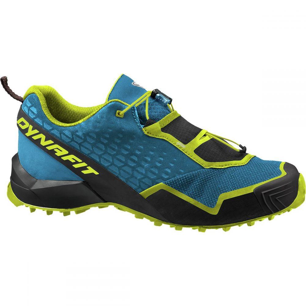 ダイナフィット Dynafit メンズ ランニング・ウォーキング シューズ・靴【Speed MTN Gore - Tex Trail Running Shoe】Mykonos Blue/Lime Punch