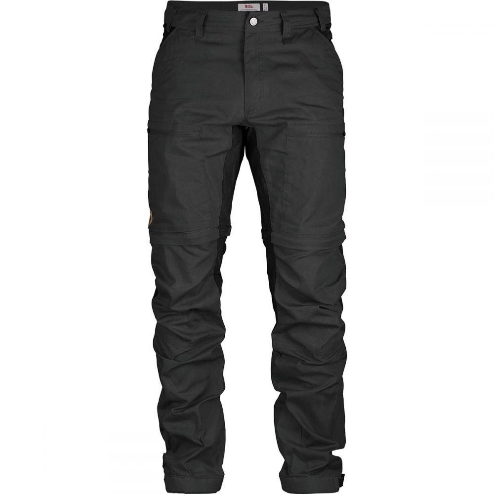 フェールラーベン Fjallraven メンズ ハイキング・登山 ボトムス・パンツ【Abisko Lite Trekking Zip - Off Trouser】Dark Grey/Black