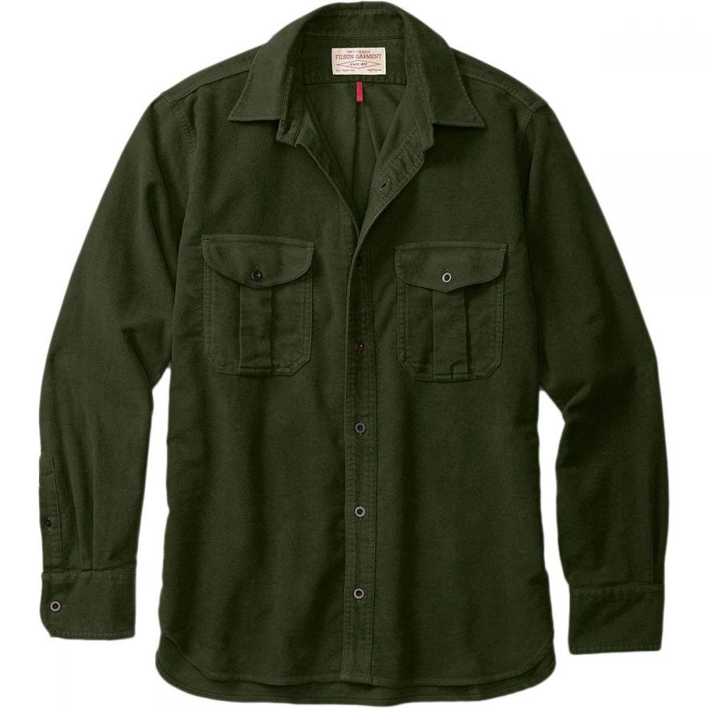 フィルソン Filson メンズ シャツ トップス【Seattle Moleskin Shirt】Dark Olive