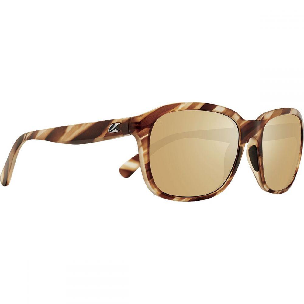 カエノン Kaenon レディース スポーツサングラス 【Sonoma Polarized Sunglasses】Driftwood/Brown 12-Polarized Gold Mirror