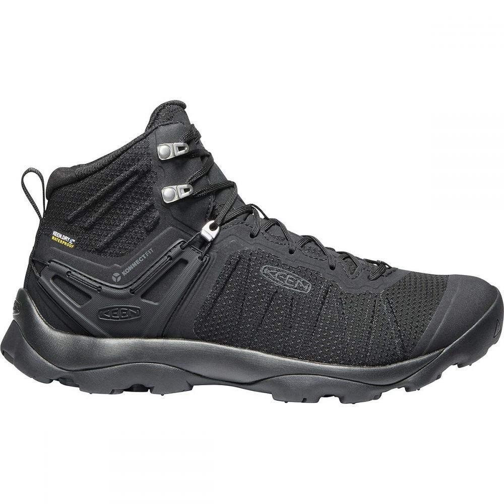 キーン KEEN メンズ ハイキング・登山 ブーツ シューズ・靴【Venture Mid Waterproof Boot】Black/Black