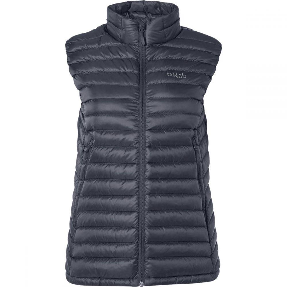 ラブ Rab レディース ベスト・ジレ ダウンベスト トップス【Microlight Down Vest】Steel/Passata