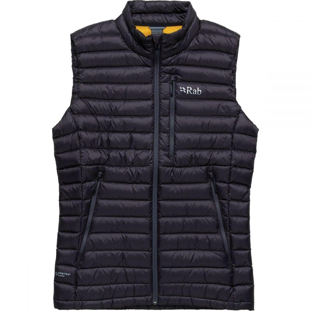 ラブ Rab メンズ ベスト・ジレ トップス【Microlight Vest】Beluga/Dijon