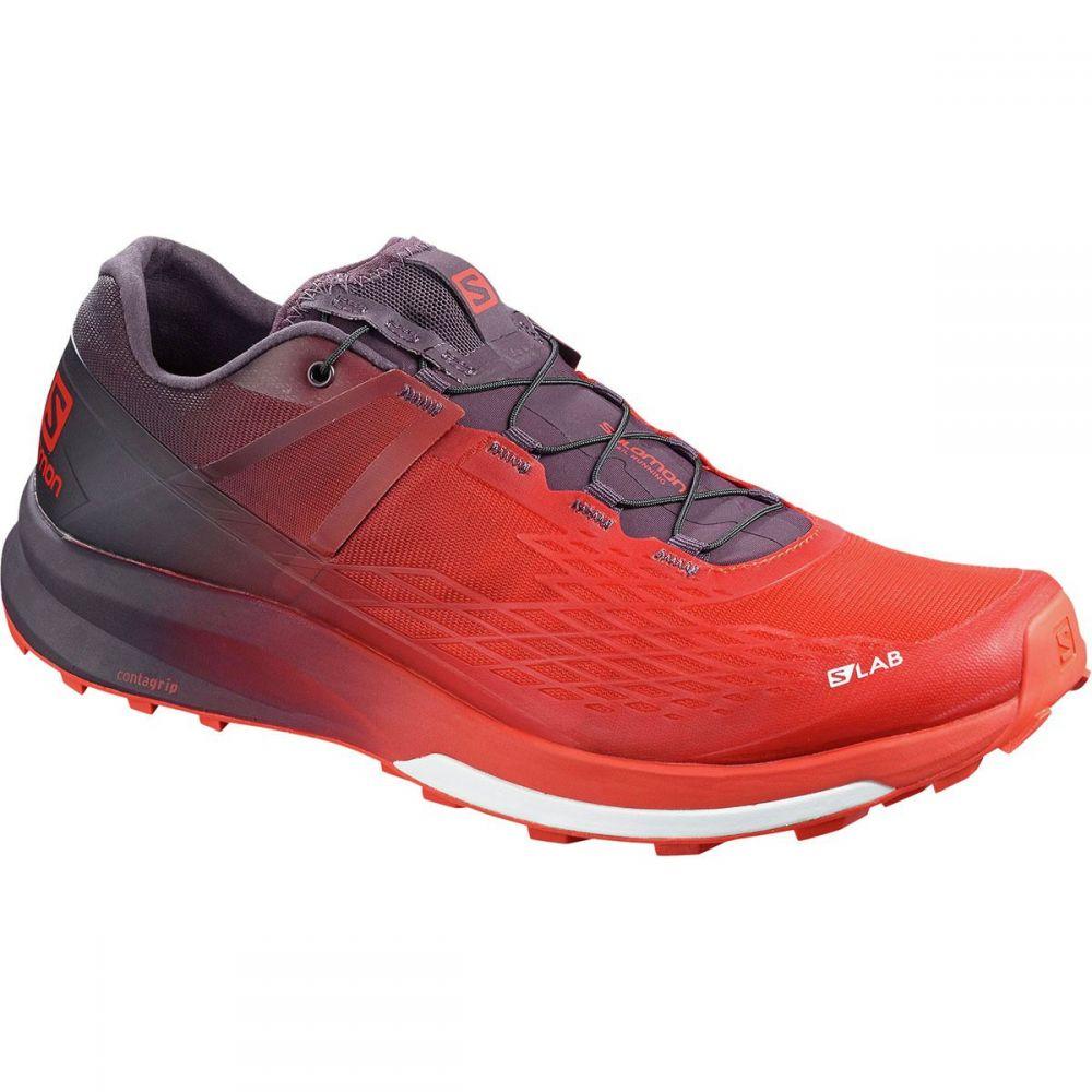 サロモン Salomon メンズ ランニング・ウォーキング シューズ・靴【S - Lab Ultra 2 Trail Running Shoe】Racing Red/Maverick/White