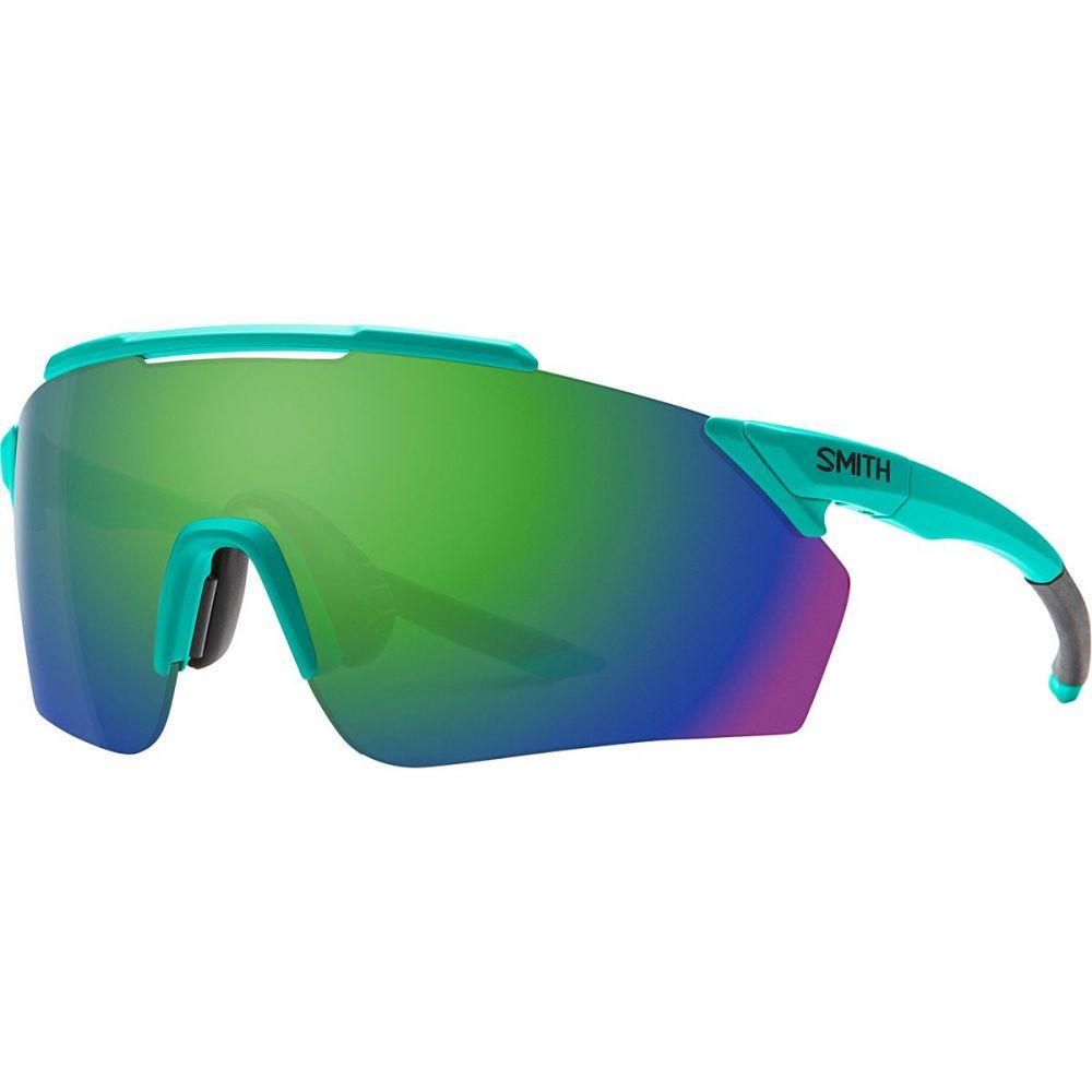 スミス Smith レディース スポーツサングラス 【Ruckus ChromaPop Sunglasses】Matte Jade/Sun Green Mirror