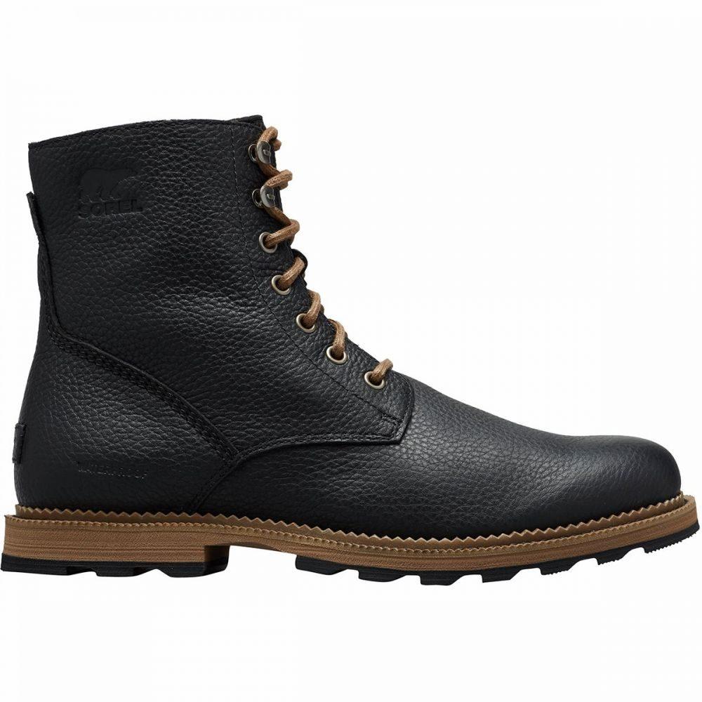 ソレル Sorel メンズ ブーツ シューズ・靴【Madson 6in WP Boot】Black/Ancient Fossil