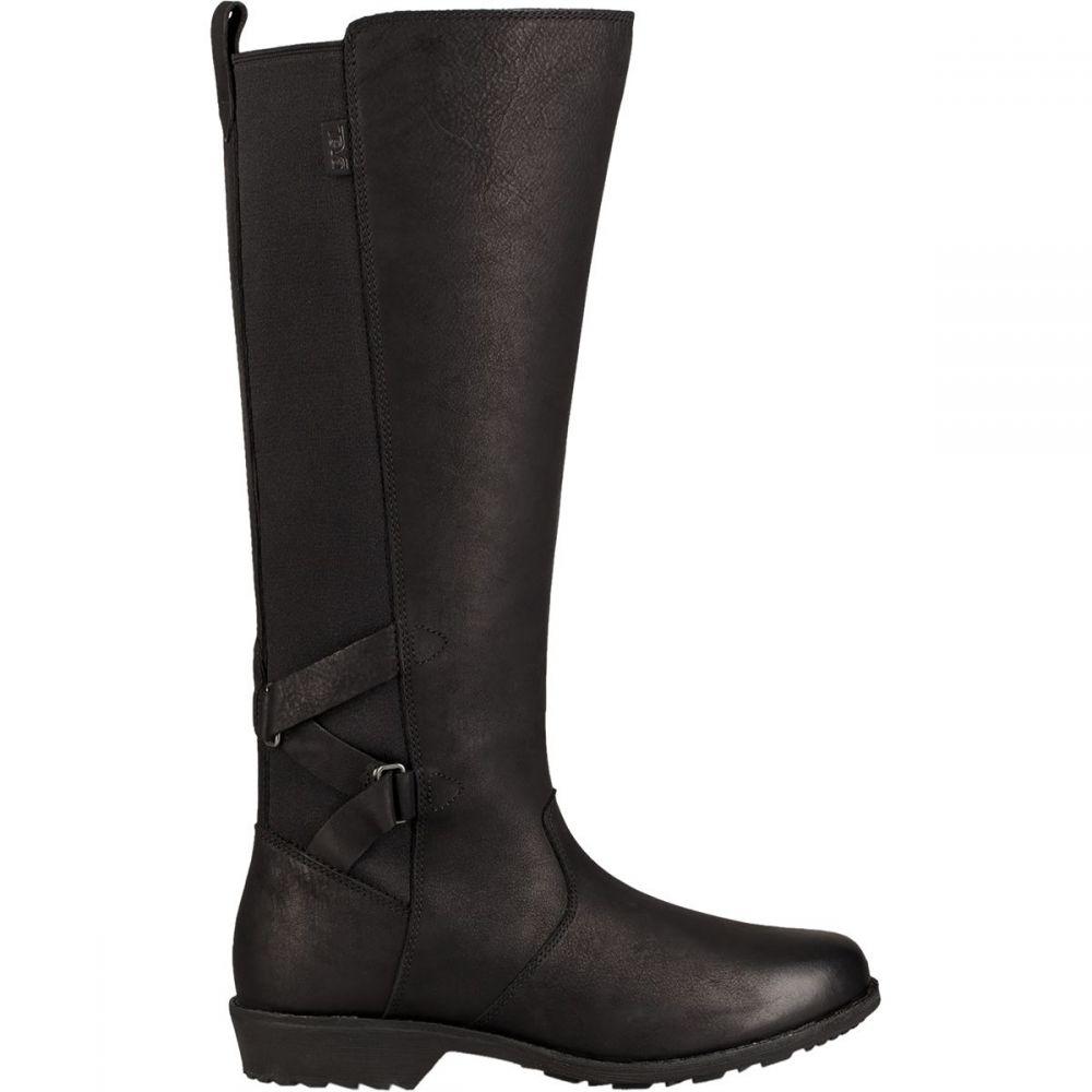 テバ Teva レディース ブーツ シューズ・靴【Ellery Tall Waterproof Boot】Black