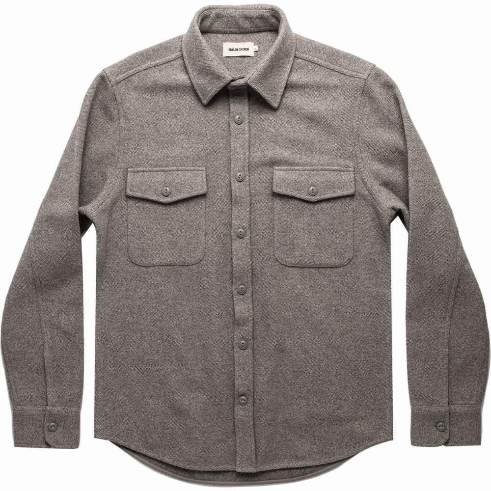 テイラー スティッチ Taylor Stitch メンズ シャツ シャツジャケット トップス【The Maritime Shirt Jacket】Heather Ash