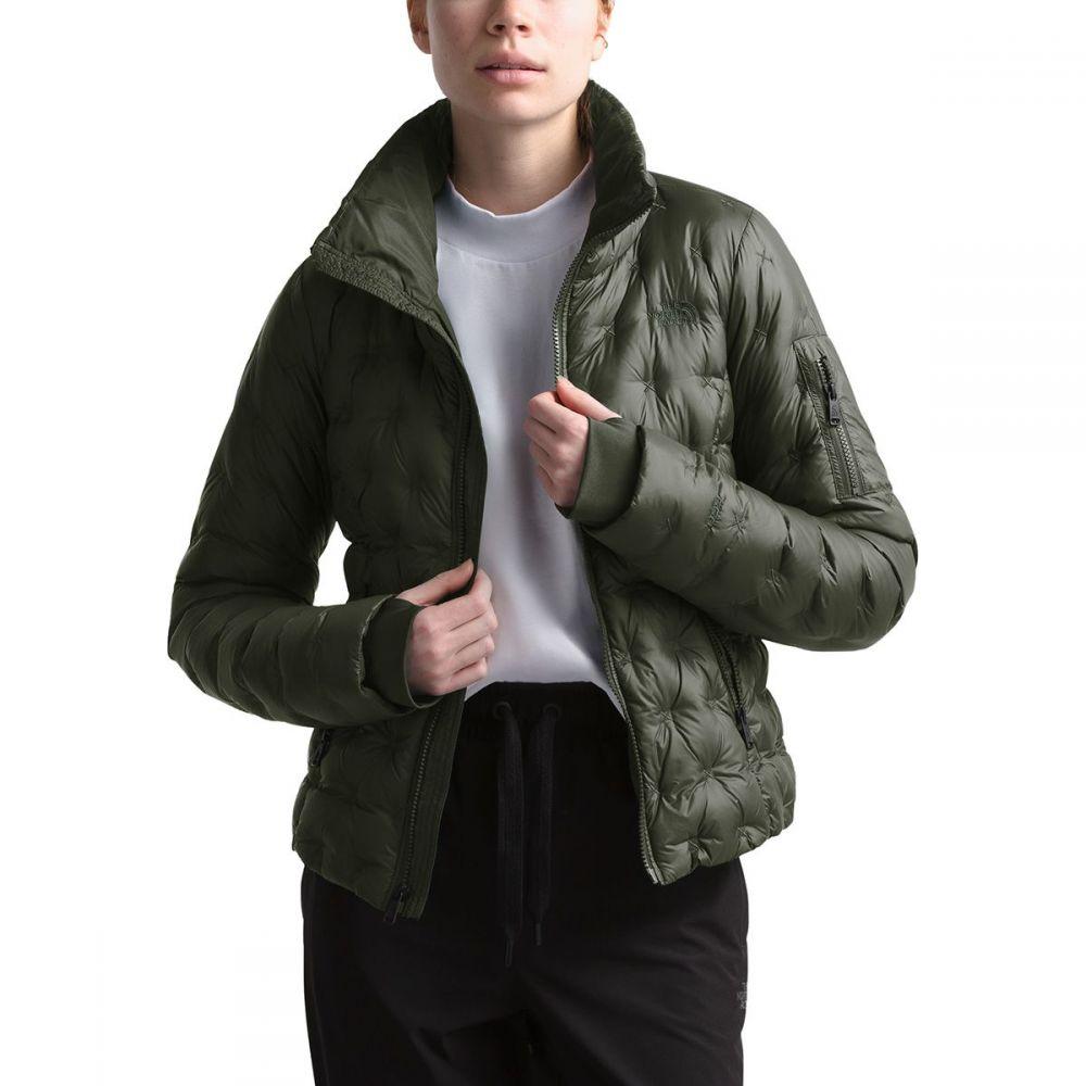 ザ ノースフェイス The North Face レディース ダウン・中綿ジャケット アウター【Holladown Crop Down Jacket】New Taupe Green