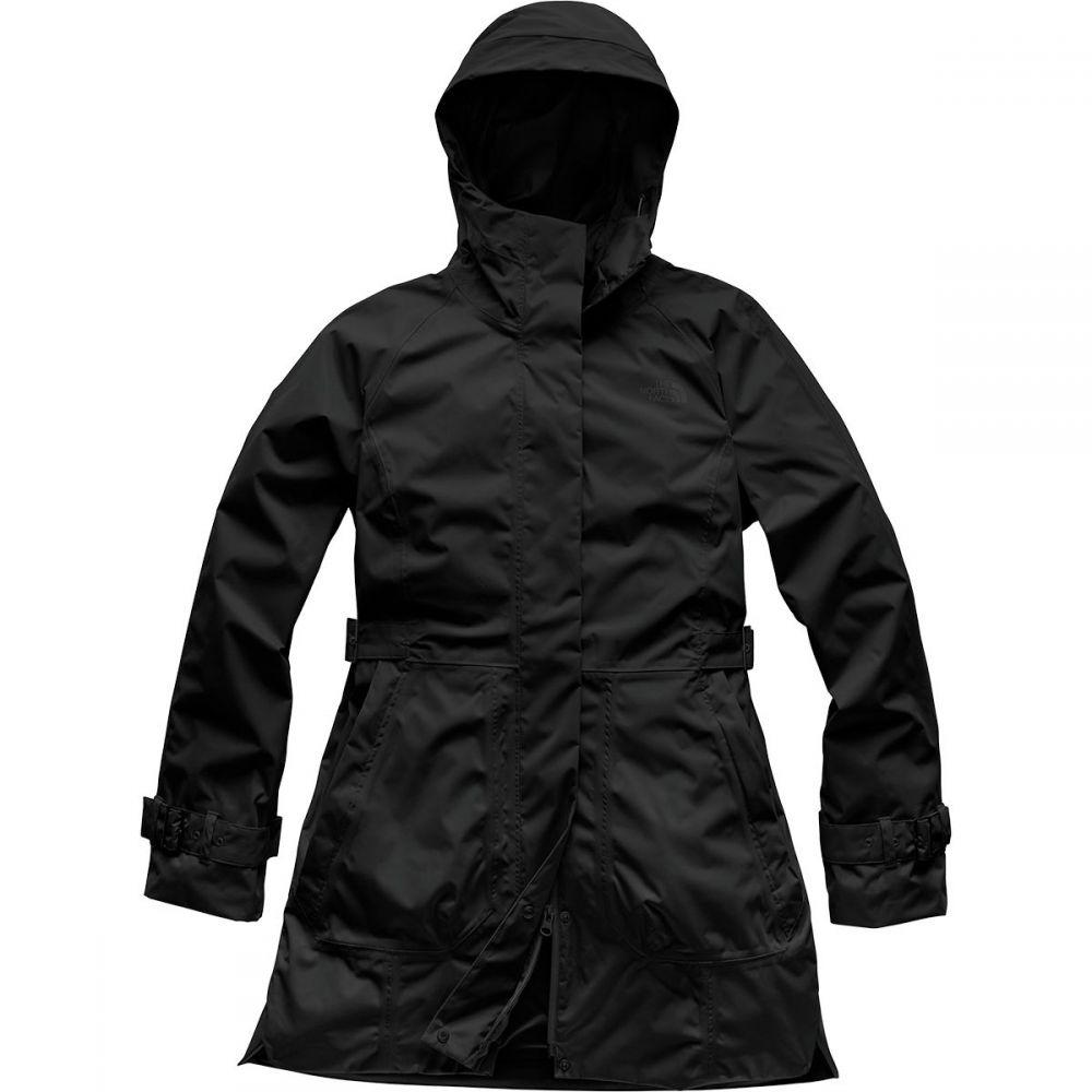 ザ ノースフェイス The North Face レディース レインコート アウター【City Breeze Rain Trench Jacket】Tnf Black