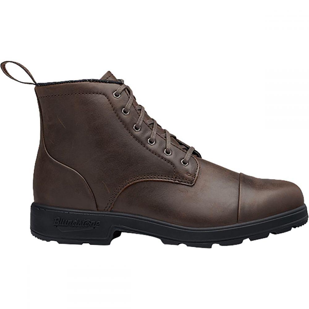 ブランドストーン Blundstone メンズ ブーツ レースアップ シューズ・靴【Lace - Up Original Series Boot】Antique Brown/Toe Cap