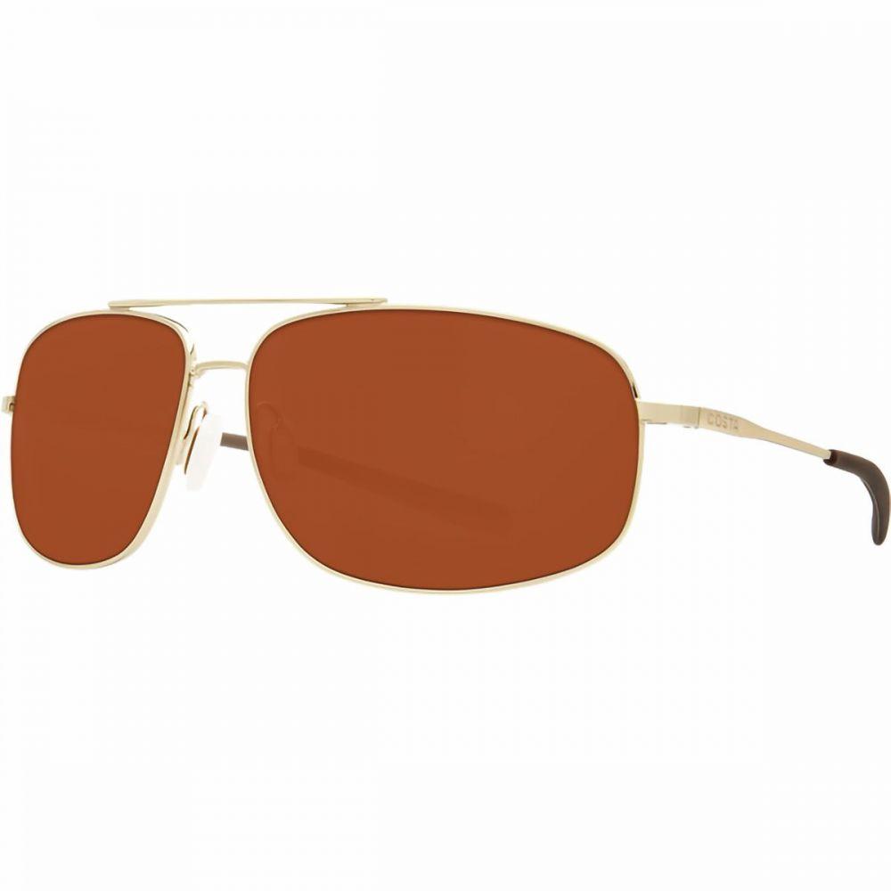 コスタ Costa レディース メガネ・サングラス 【Shipmaster 580P Polarized Sunglasses】Shiny Gold Copper 580p