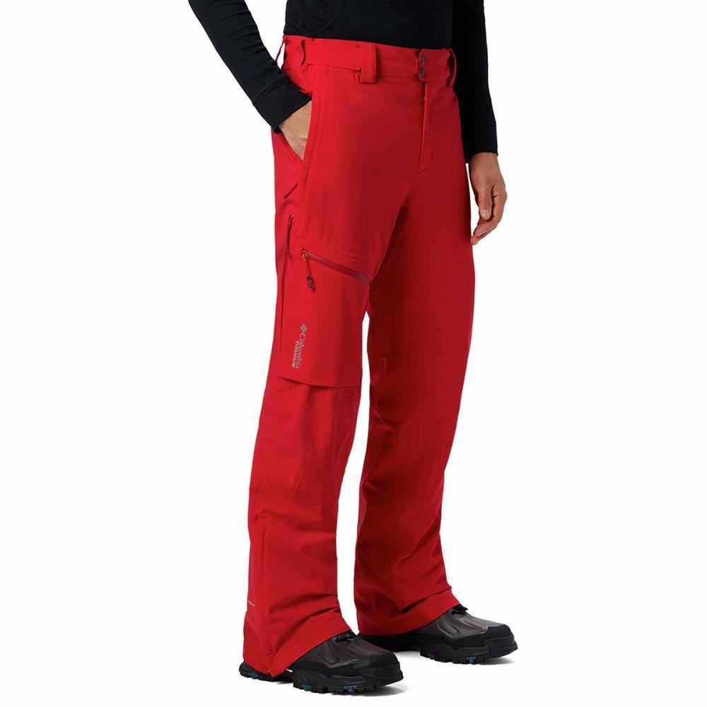 コロンビア メンズ スキー・スノーボード ボトムス・パンツ Mountain Red 【サイズ交換無料】 コロンビア Columbia メンズ スキー・スノーボード ボトムス・パンツ【Snow Rival II Pant】Mountain Red