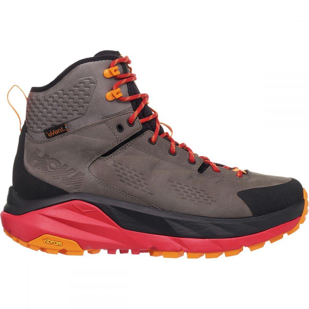 ホカ オネオネ HOKA ONE ONE メンズ ハイキング・登山 ブーツ シューズ・靴【Sky Kaha Hiking Boot】Black/Grey