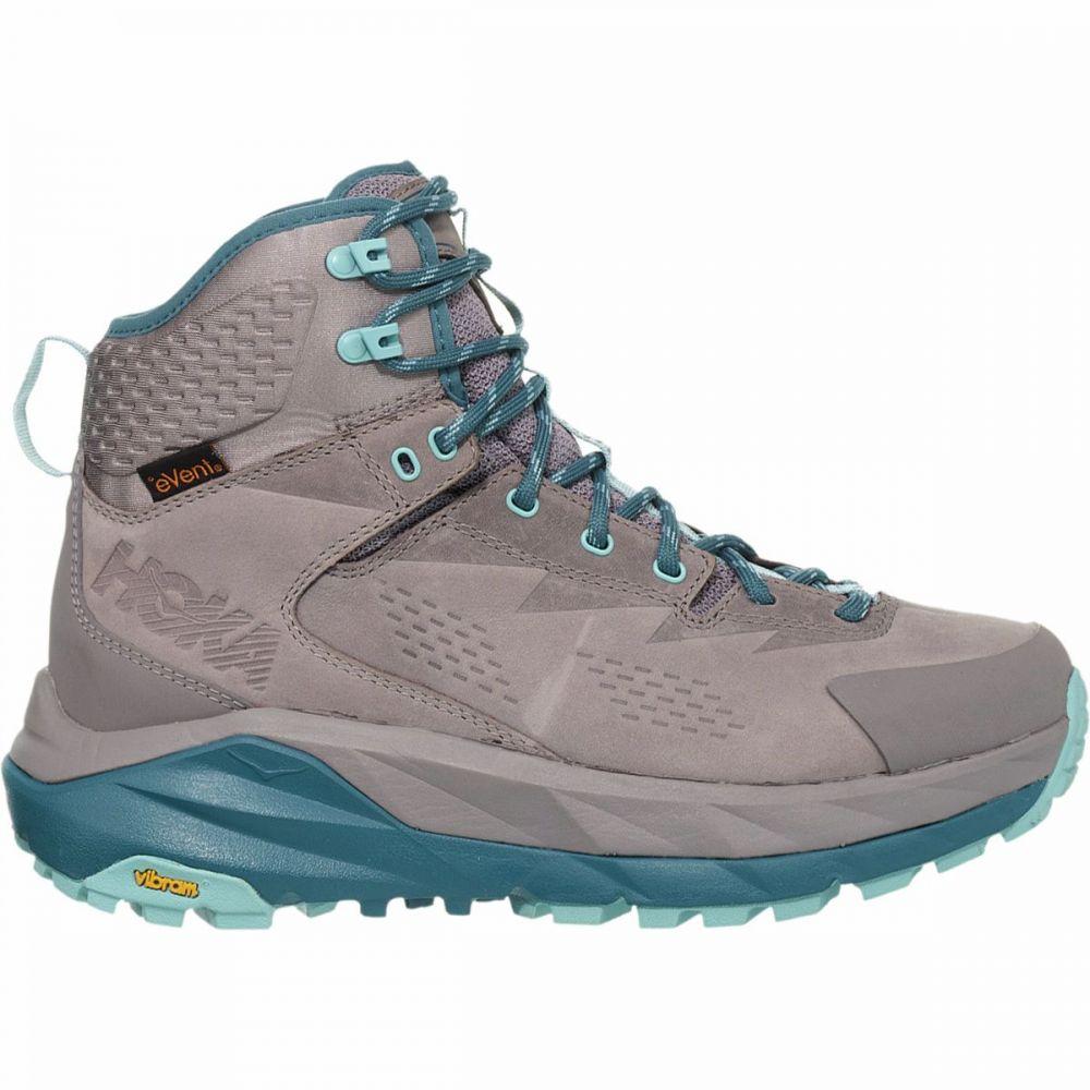 ホカ オネオネ HOKA ONE ONE レディース ハイキング・登山 ブーツ シューズ・靴【Sky Kaha Hiking Boot】Frost Gray/Aqua Haze