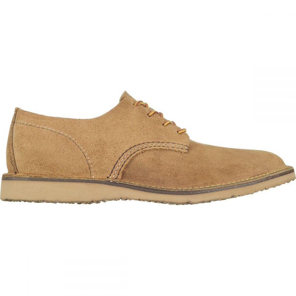 レッドウィング Red Wing Heritage メンズ 革靴・ビジネスシューズ シューズ・靴【Weekender Oxford Shoe】Hawthorne Muleskinner Leather